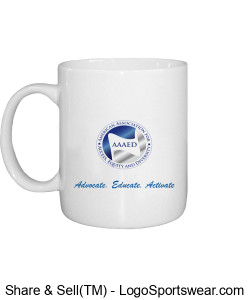 AAAED Mug with Tag Line Design Zoom