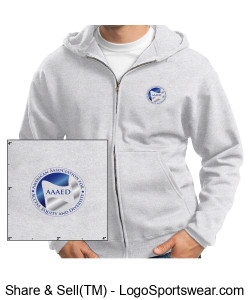 "AAAED sweatshirt with tag line ""Advocate.Educate.Activate"" Design Zoom"
