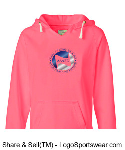 Women's sweatshirt with logo and tag line Design Zoom